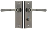 21262 Dual Lever Rectangular Escutcheon Storm Door Latch