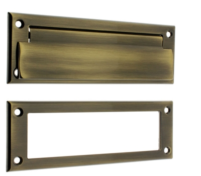 22110 Letter Mail Plate & Open Back Plate