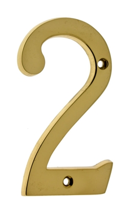 "23022 4"" Cast Solid Brass Number: #2"