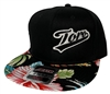 "Toro BJJ ""Flower Brim""  6 Panel Snap Back Hat jiu jitsu"