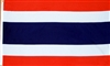 Thailand Country Flag * Muay Thai Gym Banner
