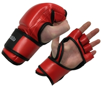 red mma glove cage legal