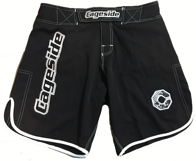 Cageside Enforcer  Black mma Shorts