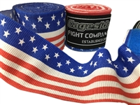 Cageside USA Handwraps Flag, hand wraps, boxing, mma, muay thai