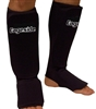 Cageside Cloth Shin Guards, black