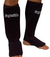 Ranked Fight Gear MMA Cloth Shin Guards