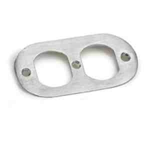 Lew Electric 804a Floor Box Blank Nozzle Cover Oval