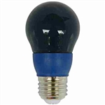 CyberTech Blue 5 Watt A15 LED Party Light Bulb