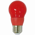CyberTech Red 5 Watt A15 LED Party Light Bulb