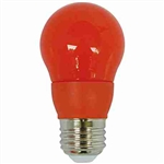 CyberTech Orange 5 Watt A15 LED Party Light Bulb