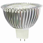 Cyber Tech Green 3 Watt 12 Volt GU5.3 MR16 LED Light Bulb