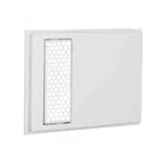 Cadet ACH Wall Heater Grill for Apex72 Heaters, Hexagonal Design - White