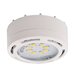 Amax Lighting LEDPL1 LED Under Cabinet Under Cabinet 120V Puck Light