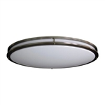 LED-JR005NKL-Amax Lighting LED-JR005NKL LED Ceiling Fixtures Oval Two Ring Flush Mount Ceiling Fixture