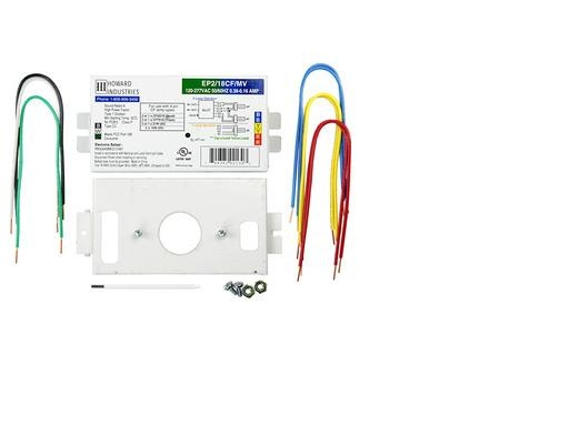 Howard Ep2 18cf Mv K 2 Lamp 18 Watt Cfl 120 277 Volt Programmed Start Ballast Factor