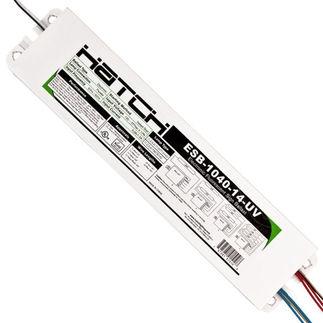 Hatch Esb 1040 14 Uv Sign Ballast 1 4 Lamps T12 Ho 120 277 Volt