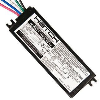 Hatch Micro Slim Mc70 1f Unnsl 70 Watt 120 277 Volt Electronic Metal Halide Ballast Ansi