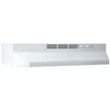 "Broan Economy 24"" 2-Speed Under Cabinet Range Hood Non-Ducted-White"