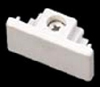 Elco Lighting Track Dead End Cap-White