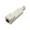 Elco Lighting Track Conduit Connector-White