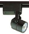 Elco Lighting Low Voltage Electronic Cylinder Track Fixture-Black