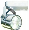 Elco Lighting Low Voltage Electronic Cylinder Track Fixture-Brushed Nickel