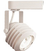 Elco Lighting Low Voltage Electronic Louver Track Fixture-White