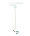 Elco Lighting Low Voltage Telescopic Antenna Track Head-White