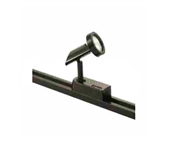 Elco Lighting Low Voltage Contempo Track Fixture-Black