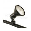 Elco Lighting Line Voltage Solid PAR 38 Track Fixture-Black