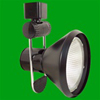 Elco Lighting Line Voltage High Tech Track Fixture with Cone-Black