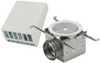 "Fantech 110 CFM Wall-Mount Exterior Exhaust Fan Kit for 4"" Duct"