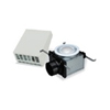 "110 CFM Wall-Mount Exterior Exhaust Fan Kit with Fluorescent Light for 4"" Duct"