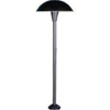 "Focus Lighting 12V 18W 8"" Large Mushroom Hat Area Light-Black Texture"