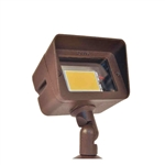 35W Adjustable Mini Floodlight High-Impact Clear Flat Acrylic Lens-Antique Verde
