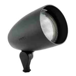 120V 50W ALum Bullet Directional Light No Collar-Black Texture