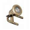 20W Brass Underwater Light with Black Thumbscrews Adjustable Aiming Bracket