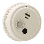 Photoelectric Smoke Alarm-Integral Thermal Sensor A-C Contacts Temporal Sounder