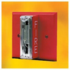 Gentex 120VAC Remote Evacuation Strobe-Red Faceplate