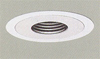 "Halo 4"" Low Voltage Trim-White with Black Baffle"