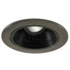 "Halo 4"" Low Voltage Trim-Black Chrome and Coilex Baffle"