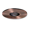 "Halo 3"" Low Voltage Pinhole Trim-Antique Copper with Black Adjustable Baffle"