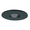 "Halo 3"" Low Voltage Pinhole Trim-Black with Adjustable Baffle"