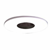 "Halo 3"" Low Voltage Pinhole Trim-White with Black Adjustable Baffle"