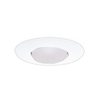 "Halo 6"" Line Voltage Open Trim with Socket Support-White"