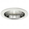 "Halo 6"" Line Voltage Trim with Self Flanged Clear Specular Reflector-White"