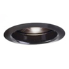 "Halo 6"" Line Voltage Trim with Specular Reflector-Black"