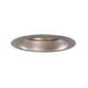 "Halo 6"" Line Voltage Trim with Reflector and Metal Baffle-Satin Nickel"