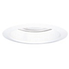 "Halo 6"" Line Voltage Trim with Clear Reflector and Metal Baffle-White"