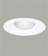 "Halo 6"" Line Voltage Metal Splay Trim-White"